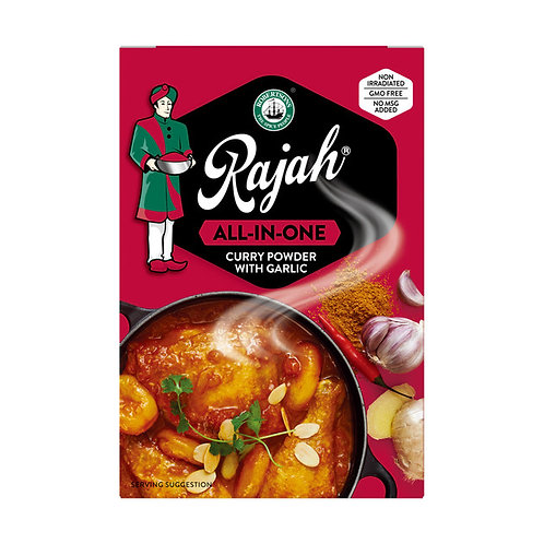Rajah Curry Powder all in one with garlic 100g