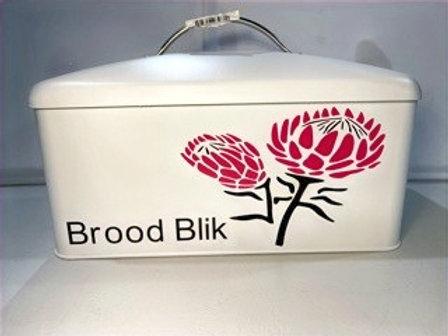 Tin Protea Breadbin