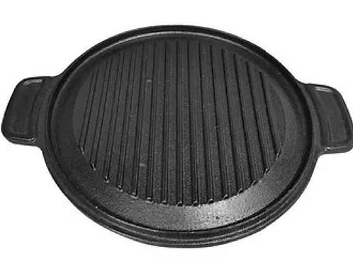 4.1 kg CAST IRON, DOUBLE SIDED GRIDDLE/SKOTTEL PLATE