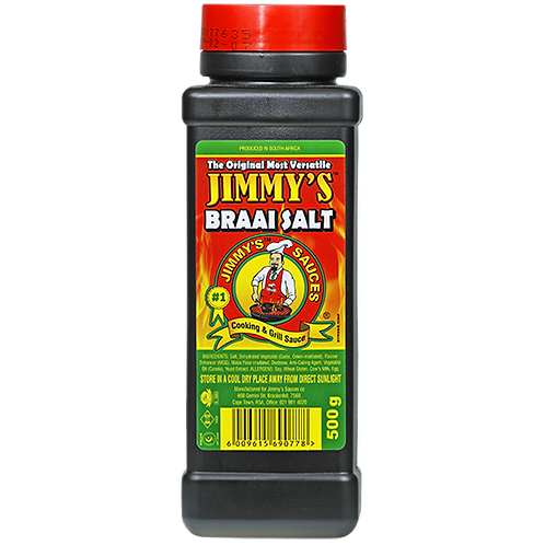 Jimmy's Braai Salt 500g
