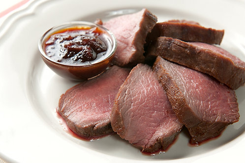 Frozen Wild Venison Sirloin Steak