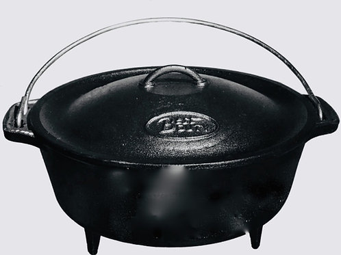 Best Duty #12 Bake Pot (3 legs) (8.6kg)