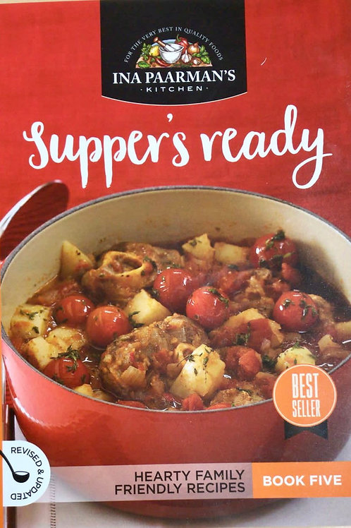 """Ina Paarmans Recipe Book A5 """"Suppers Ready"""""""