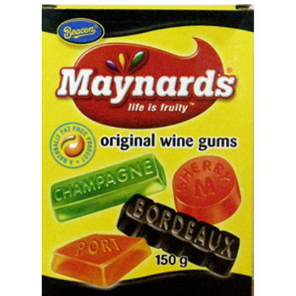 Maynhards Wine Gums- mini's 75g bags