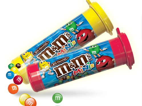 Mini M&M's tube 35g (BB DATE 19/5/2019)