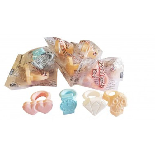 Candy rings x 2 (20g)