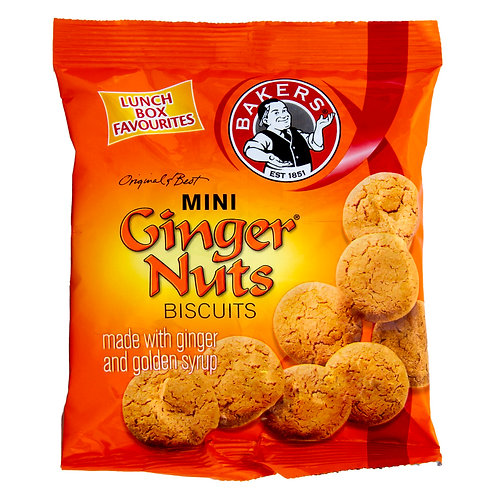 Bakers Mini Ginger Nuts 40g