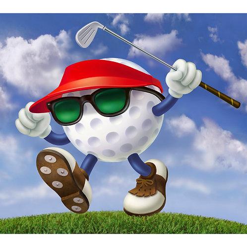 Golf Ball Funny
