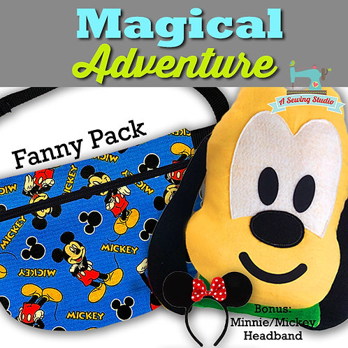 NEW!  Magical Adventure, July 29, 9:30a-12p (2.5 hours)  {All Sewing}