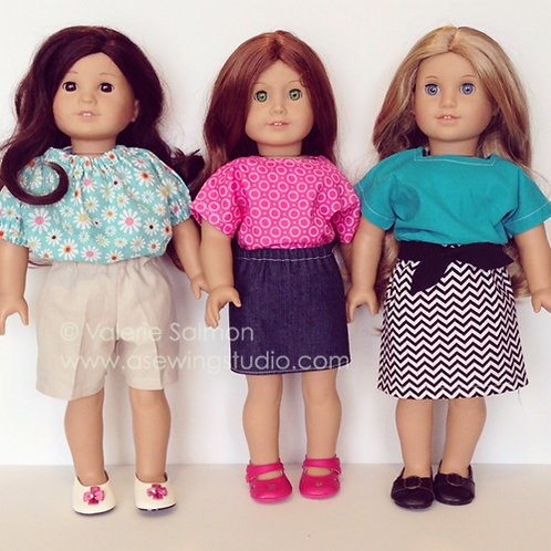 """American Girl Doll Clothes"" {6/30-7/1}"