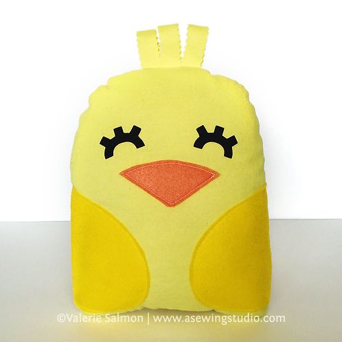 Baby Chick Plushie