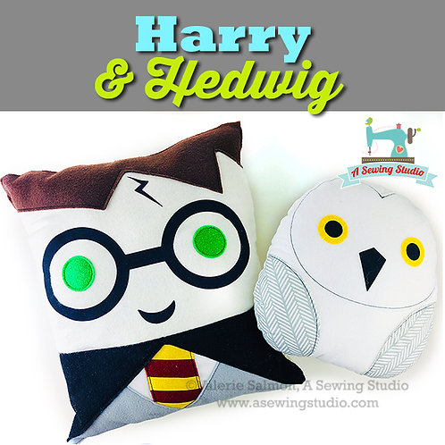 Harry & Hedwig, October 3, 10a-12:30p {All Sewing}
