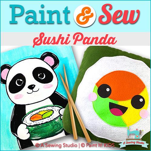 Sushi Panda , January 30, 9:30a-12:30p, 3 total hours
