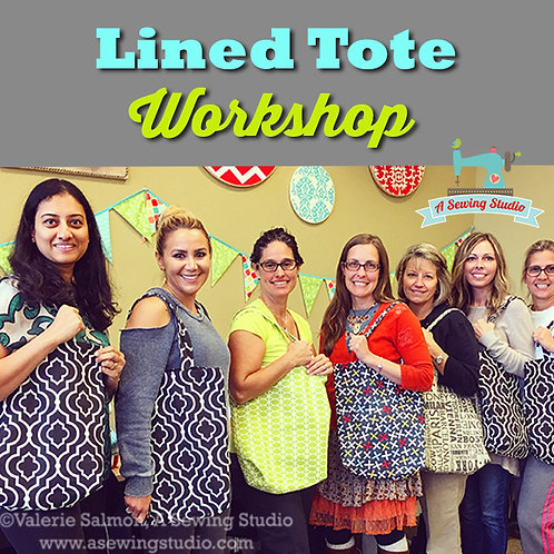 Lined Tote, 5/19, 9:30a