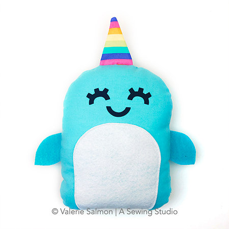 Narwhal Plushie Kit-To-Go
