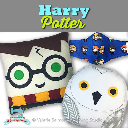 Harry Potter, July 1, 9:30a-12p, 2.5 hrs  {All Sewing}