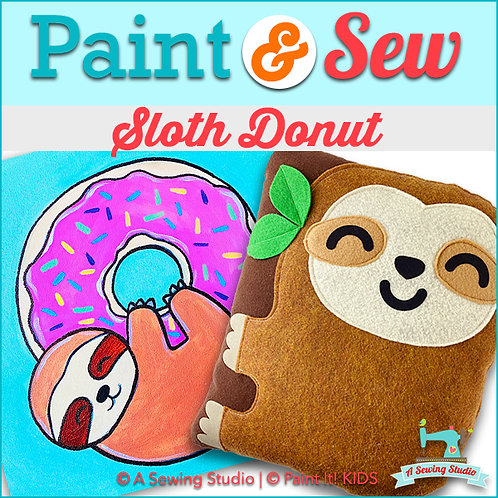 Sloth Donut, May 1, 9:30a-12:30p, 3 total hours