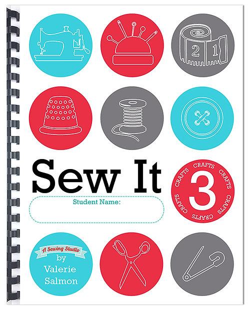 """""""Sew It 3"""" Workbook"""