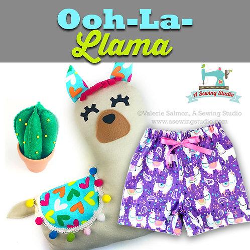 Ooh-La-Llama, July 13 & 14 (2 days), 10a-12:30p, 5 total hours