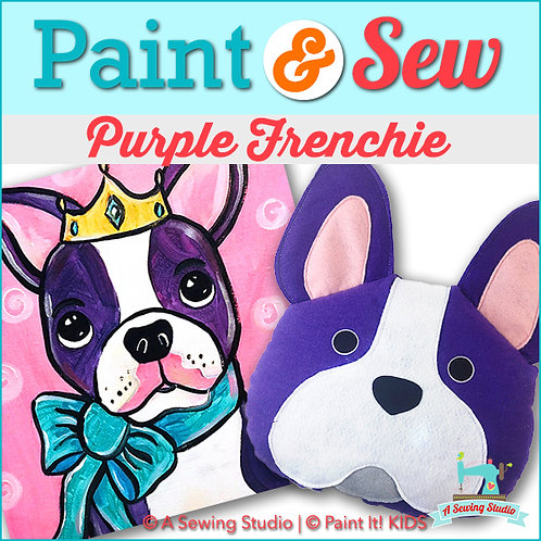 Purple Frenchie, July 20 (1 day), 1-4pm, 3 total hours