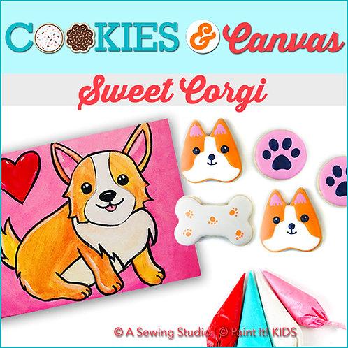 Sweet Corgi, June 11 (1 day), 10am-2pm, 4 total hours