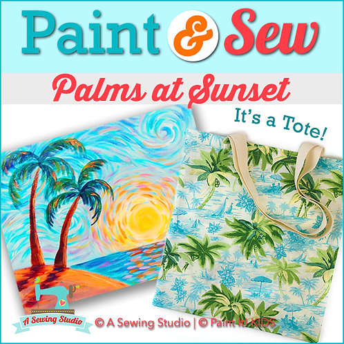 Palms at Sunset, July 9 (1 day), 1-4pm, 3 total hours