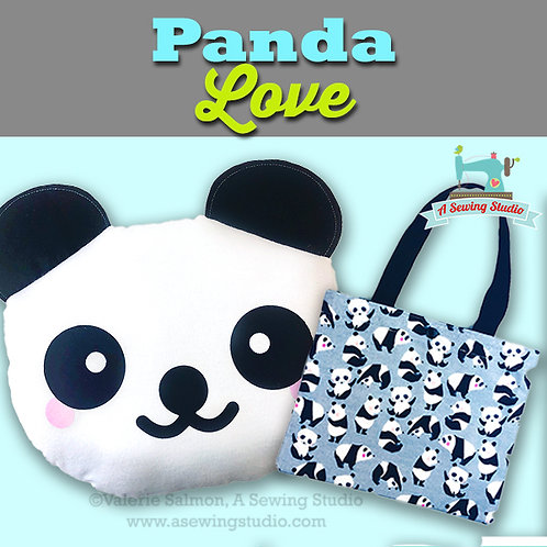 Panda Love, June 21, 9:30a-12p (2.5 hours) {All Sewing}