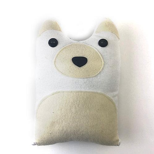 Polar Bear Plushie Kit-To-Go