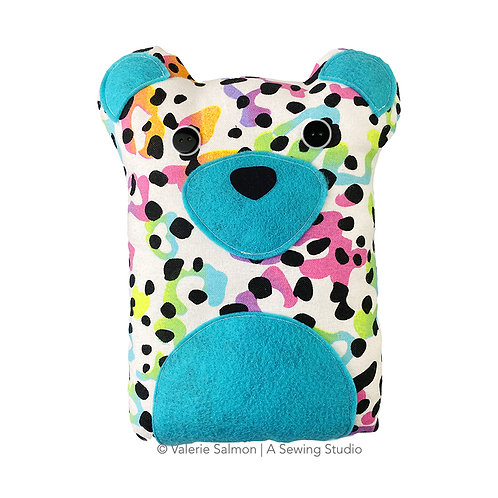 Leopard Plushie Kit-To-Go
