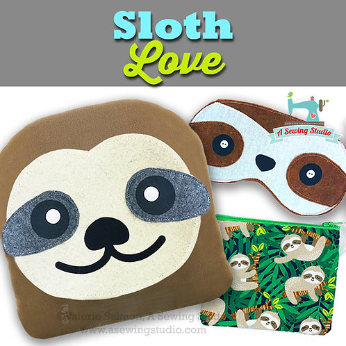 Sloth Love, June 22, 9:30a-12p (2.5 hours)  {All Sewing}