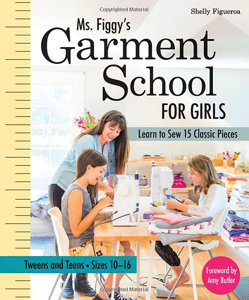 """Set of Sewing Patterns for """"Garment School for Girls"""" Book"""