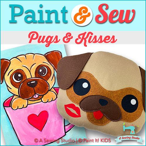 Pugs & Kisses , February 27, 9:30a-12:30p, 3 total hours