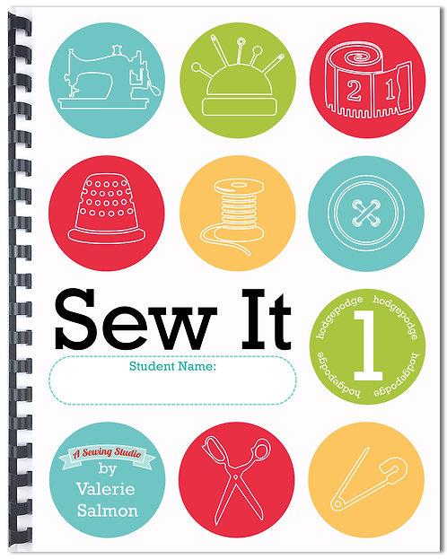 """""""Sew It 1"""" Workbook"""
