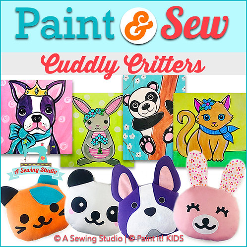 Cuddly Critters, June 29-July 2 (4 days), 10am-2pm, 16 total hours