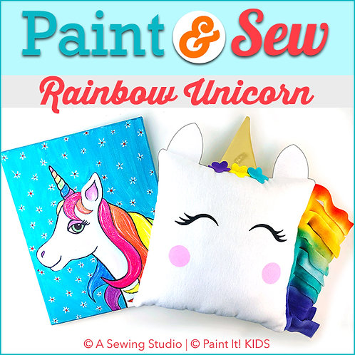 Rainbow Unicorn, July 30 (1 day), 9:30a-12:30p, 3 total hours