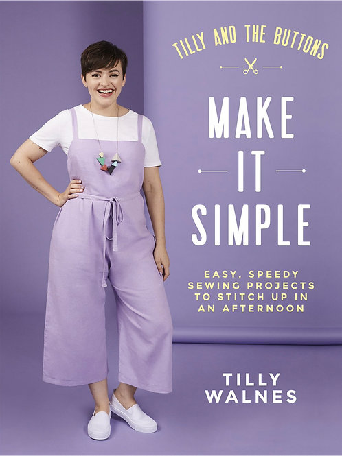 """Set of Sewing Patterns for """"Make It Simple"""" book (12 pages)"""