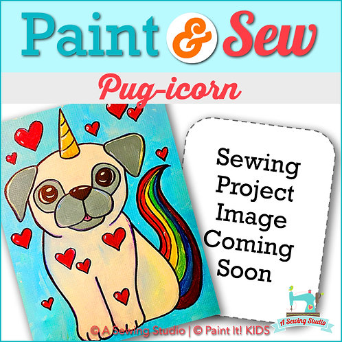 Pug-icorn, June 28 (1 day), 1-4pm, 3 total hours