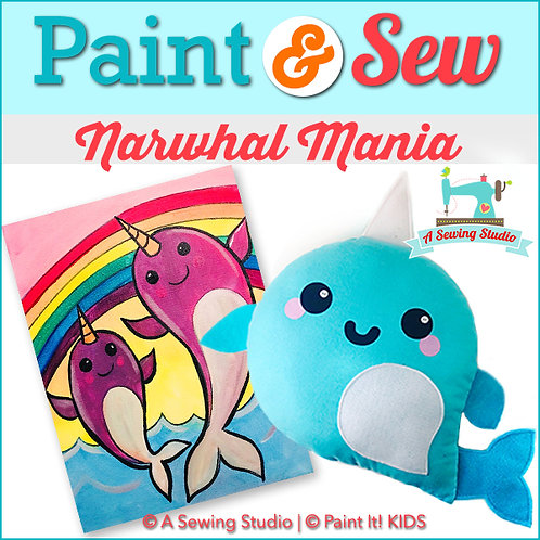 Narwhal Mania, July 19 (1 day), 1-4pm, 3 total hours