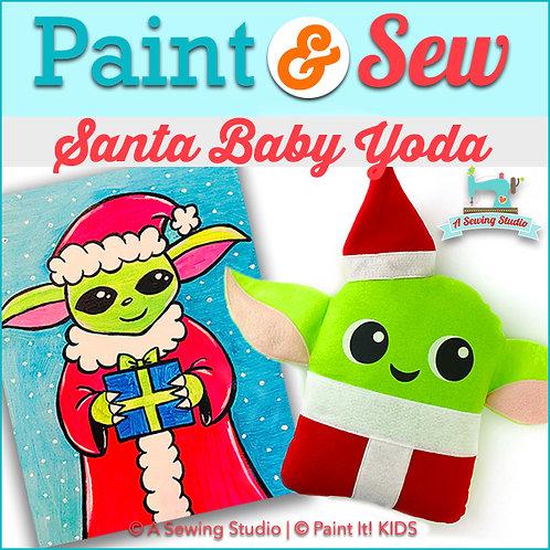Santa Baby Yoda, December 19, 9:30a-12:30p, 3 total hours