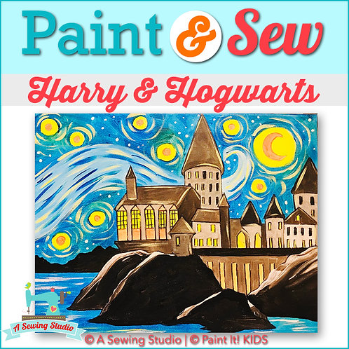 Harry & Hogwarts, July 31 (1 day), 9:30a-12:30p, 3 total hours