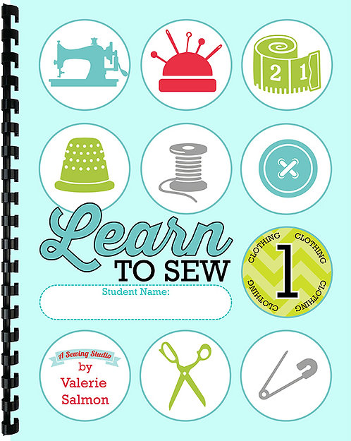 """Learn to Sew"" Kids Level 1 (Clothing)"