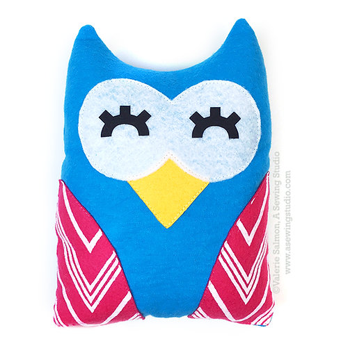 Owl Plushie Kit-To-Go
