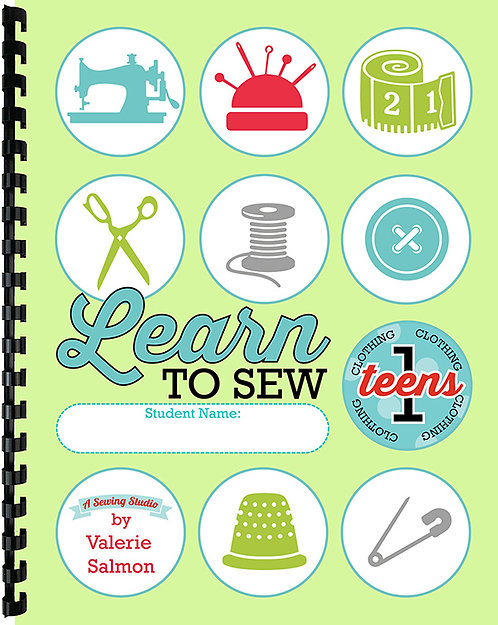 """""""Learn to Sew"""" Teens 1 (Clothing)"""