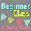 Thumbnail: Adult Beginner Class, 4/29, 9:30a