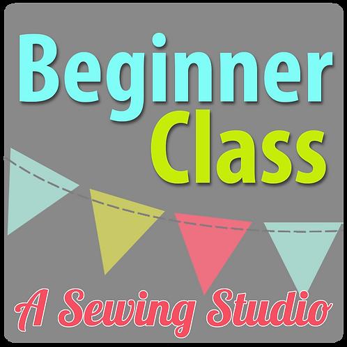 Adult Beginner Class, 4/29, 9:30a
