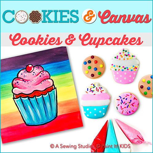 Cookies & Cupcakes, June 10 (1 day), 10am-2pm, 4 total hours