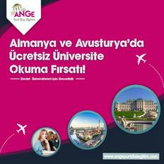 Almanya ve Avusturya'da Ücretsiz Üniversite Okuma Fırsatı!