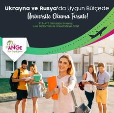 Ukrayna ve Rusya'da Uygun Bütçede Üniversite Okuma Fırsatı!