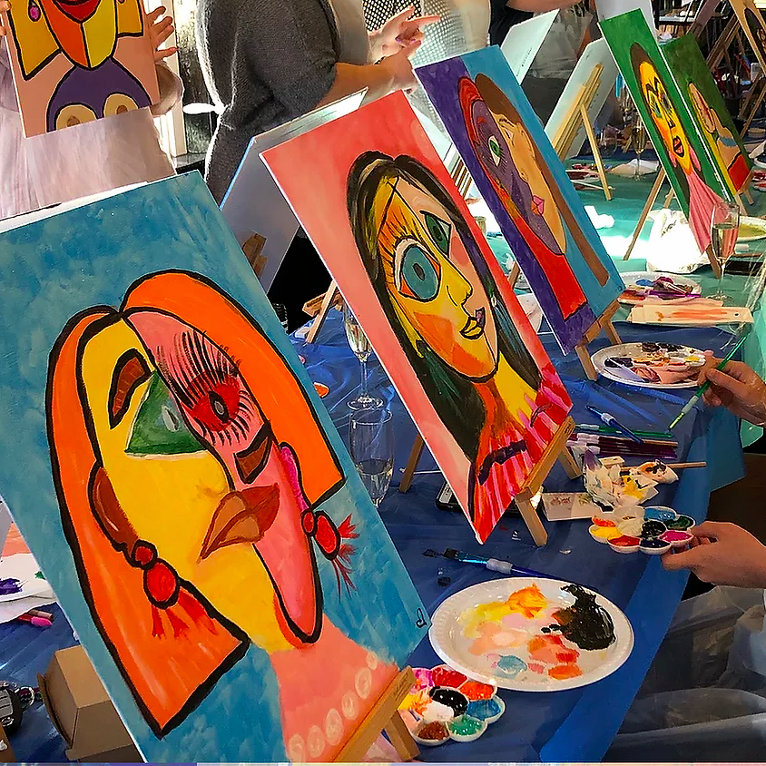 Paint Your Mate - Picasso Style