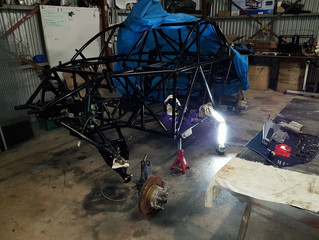 Trophy Truck re-build has begun